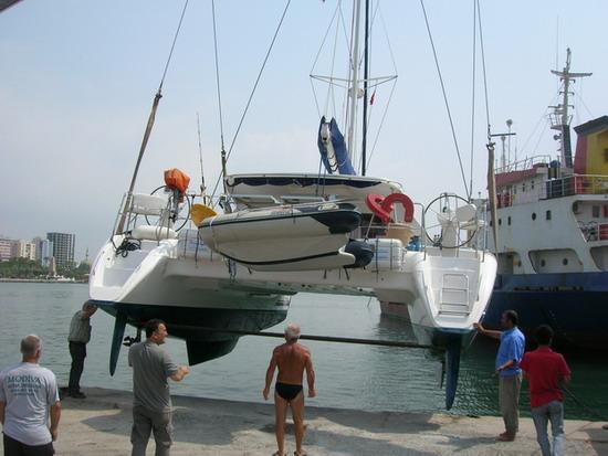 Mersin'de tekneler karaya çekilir mi? 2