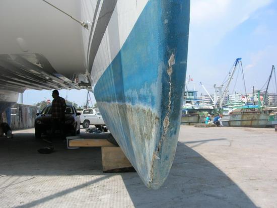 Mersin'de tekneler karaya çekilir mi? 5