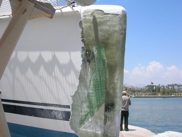 Mersin'de tekneler karaya çekilir mi? 7