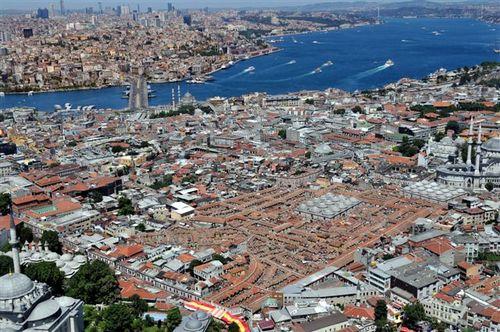 İstanbul'u gökyüzünden izlemek... 21