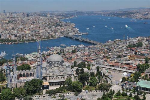 İstanbul'u gökyüzünden izlemek... 22