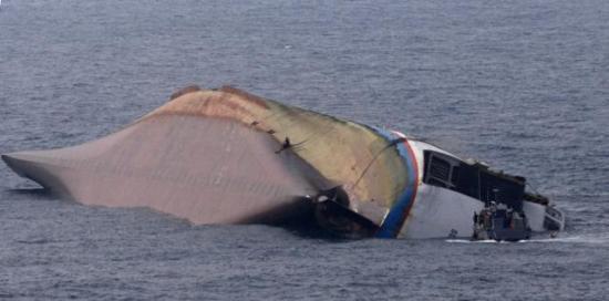 """Superferry 9"" yolcu gemisinin batışı 9"