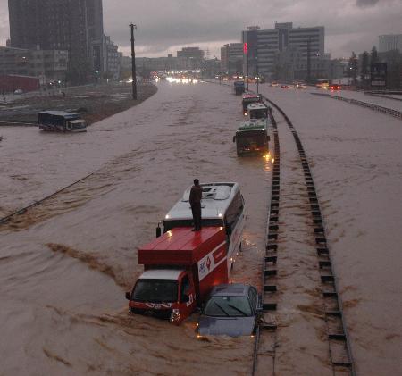 İstanbul'da sel kurbanlarının sayısı artıyor 8
