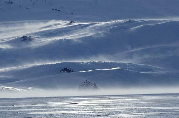 Antartika buzulları altında yaşam 6