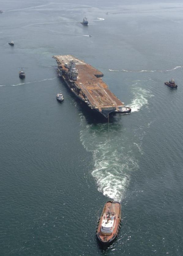 Amerikan Savaş Gemisi Böyle Battı 5