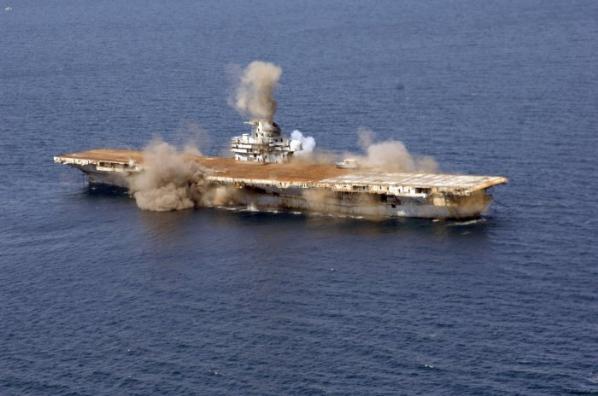 Amerikan Savaş Gemisi Böyle Battı 8