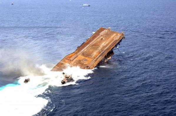 Amerikan Savaş Gemisi Böyle Battı 9