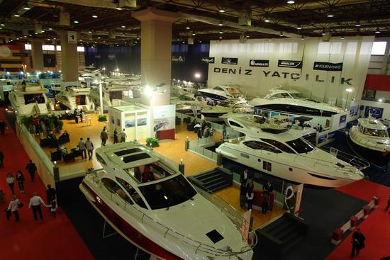 Boat Show stantlarından kareler 22