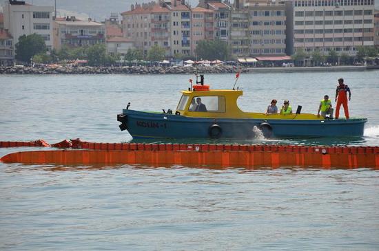 Deniz Kirliliği Tatbikatı yapıldı 10