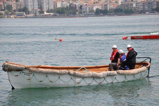 Deniz Kirliliği Tatbikatı yapıldı 12