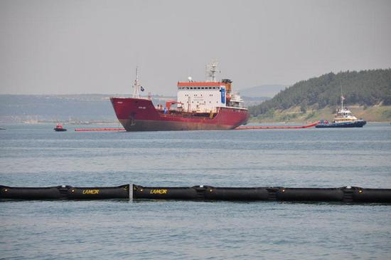 Deniz Kirliliği Tatbikatı yapıldı 13