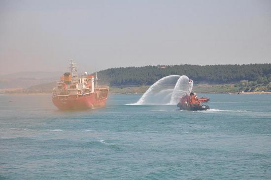 Deniz Kirliliği Tatbikatı yapıldı 4