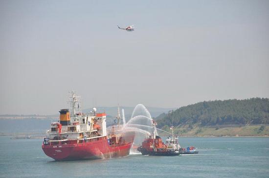 Deniz Kirliliği Tatbikatı yapıldı 5