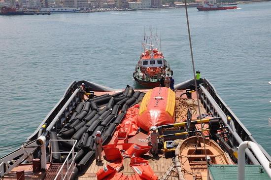 Deniz Kirliliği Tatbikatı yapıldı 6