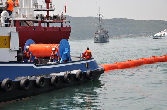 Deniz Kirliliği Tatbikatı yapıldı 7