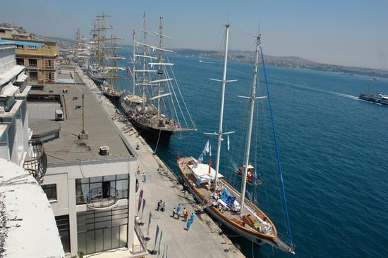 Boylu Soylu yelkenler İstanbul'da 11