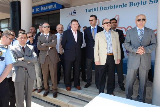 Boylu Soylu yelkenler İstanbul'da 13