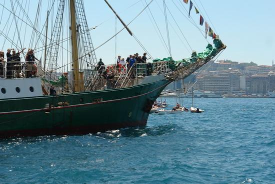 Boylu Soylu yelkenler İstanbul'da 8