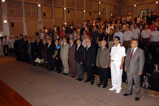 Gemi İnşaatı ve Deniz Bilimleri Fakültesi Mezuniyet Töreni 2