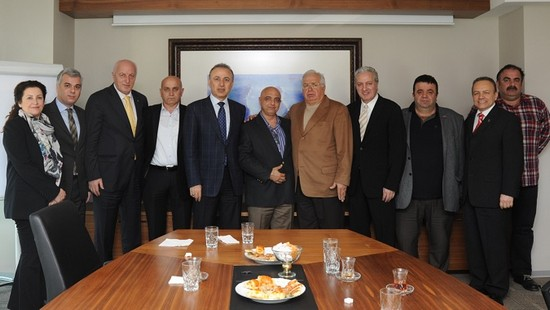 DTO Başkanı Metin Kalkavan'ın ziyaretleri 8