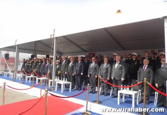 'TCSG Dost' ve 'TCSG Umut'un' teslim töreninden 39