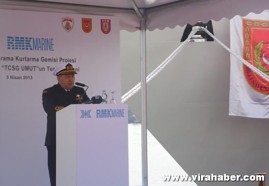 'TCSG Dost' ve 'TCSG Umut'un' teslim töreninden 56