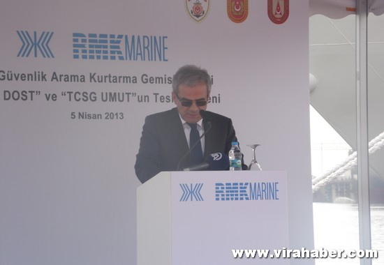 'TCSG Dost' ve 'TCSG Umut'un' teslim töreninden 63