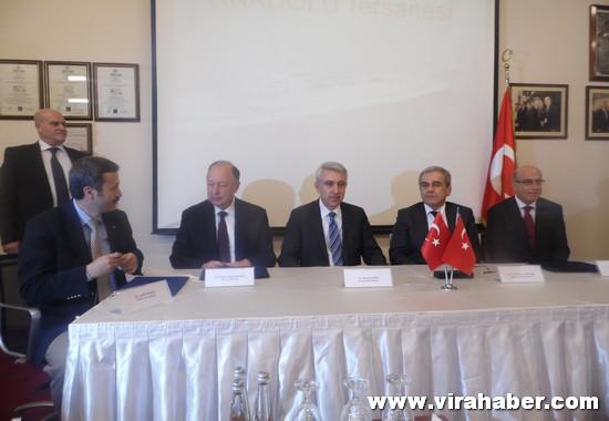 Anadolu Tersanesi proje imzalarını attı 47