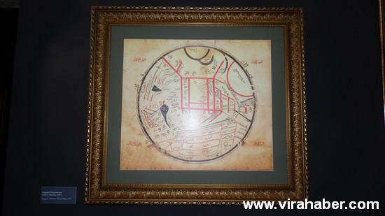 """''Piri Reis ve 1513 Dünya Haritası: 500 Yılın Gizemi"""" sergisi 16"""