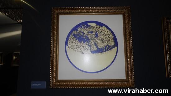 """''Piri Reis ve 1513 Dünya Haritası: 500 Yılın Gizemi"""" sergisi 21"""