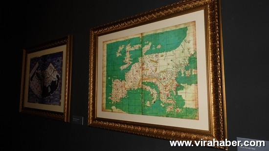 """''Piri Reis ve 1513 Dünya Haritası: 500 Yılın Gizemi"""" sergisi 22"""