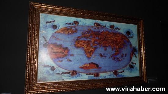 """''Piri Reis ve 1513 Dünya Haritası: 500 Yılın Gizemi"""" sergisi 23"""