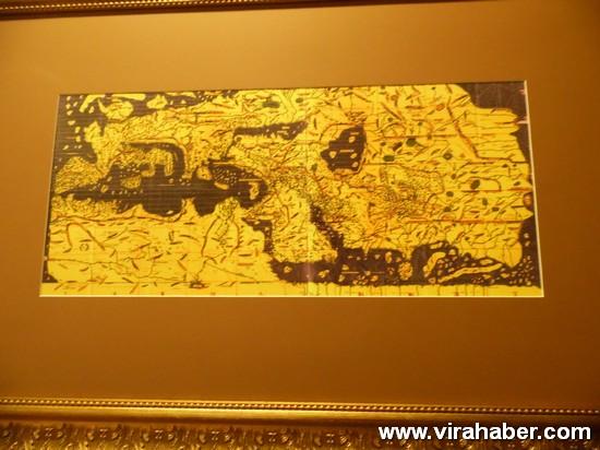 """''Piri Reis ve 1513 Dünya Haritası: 500 Yılın Gizemi"""" sergisi 27"""