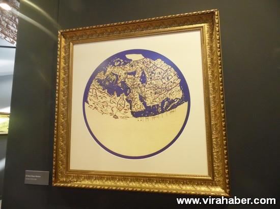 """''Piri Reis ve 1513 Dünya Haritası: 500 Yılın Gizemi"""" sergisi 29"""