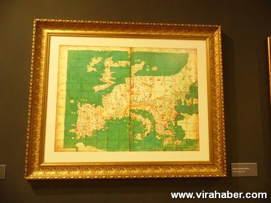"""''Piri Reis ve 1513 Dünya Haritası: 500 Yılın Gizemi"""" sergisi 31"""