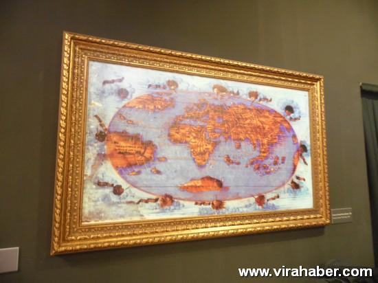 """''Piri Reis ve 1513 Dünya Haritası: 500 Yılın Gizemi"""" sergisi 32"""