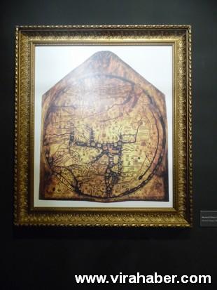 """''Piri Reis ve 1513 Dünya Haritası: 500 Yılın Gizemi"""" sergisi 35"""