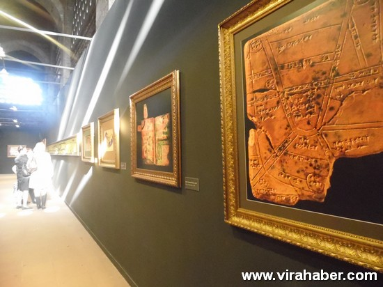 """''Piri Reis ve 1513 Dünya Haritası: 500 Yılın Gizemi"""" sergisi 4"""