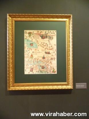 """''Piri Reis ve 1513 Dünya Haritası: 500 Yılın Gizemi"""" sergisi 41"""