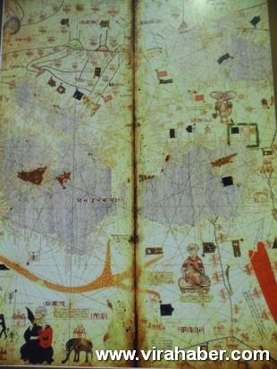 """''Piri Reis ve 1513 Dünya Haritası: 500 Yılın Gizemi"""" sergisi 43"""