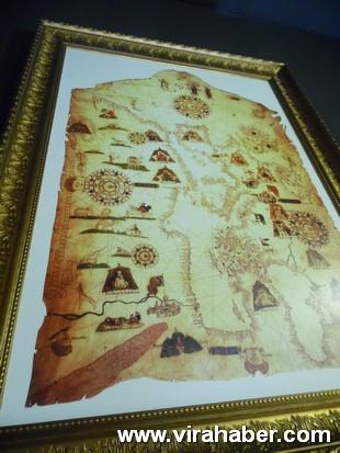 """''Piri Reis ve 1513 Dünya Haritası: 500 Yılın Gizemi"""" sergisi 47"""
