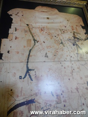 """''Piri Reis ve 1513 Dünya Haritası: 500 Yılın Gizemi"""" sergisi 48"""