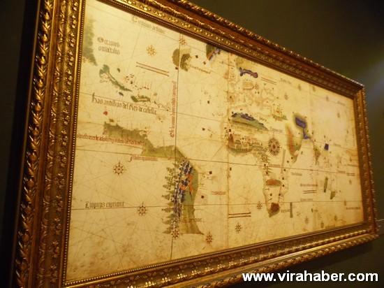 """''Piri Reis ve 1513 Dünya Haritası: 500 Yılın Gizemi"""" sergisi 51"""