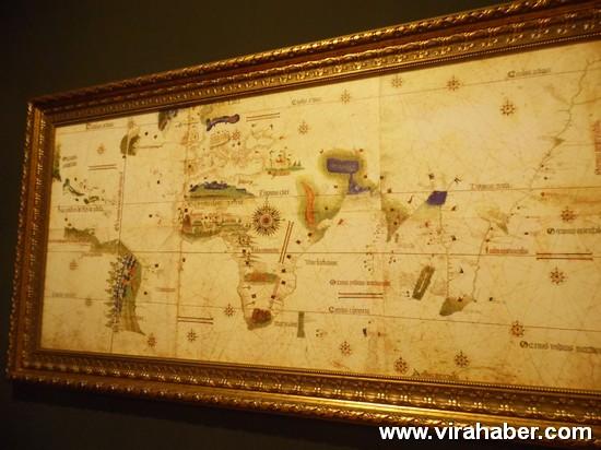 """''Piri Reis ve 1513 Dünya Haritası: 500 Yılın Gizemi"""" sergisi 52"""