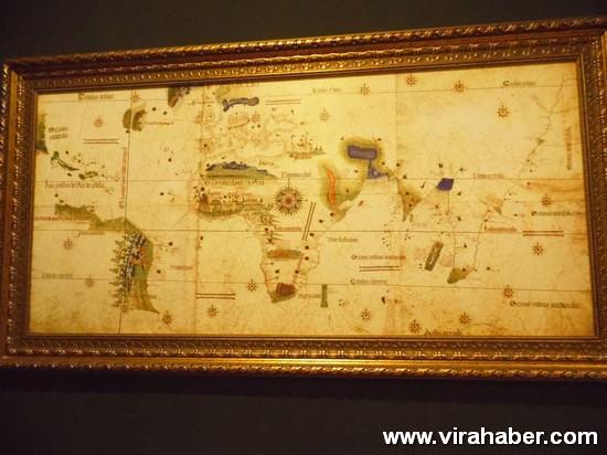 """''Piri Reis ve 1513 Dünya Haritası: 500 Yılın Gizemi"""" sergisi 55"""