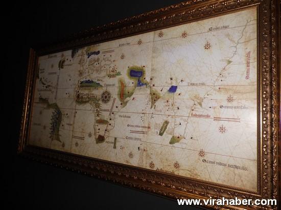 """''Piri Reis ve 1513 Dünya Haritası: 500 Yılın Gizemi"""" sergisi 56"""