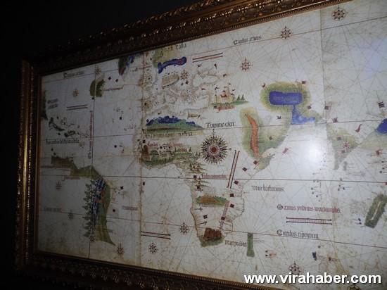 """''Piri Reis ve 1513 Dünya Haritası: 500 Yılın Gizemi"""" sergisi 57"""
