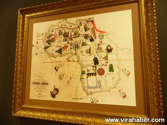 """''Piri Reis ve 1513 Dünya Haritası: 500 Yılın Gizemi"""" sergisi 59"""