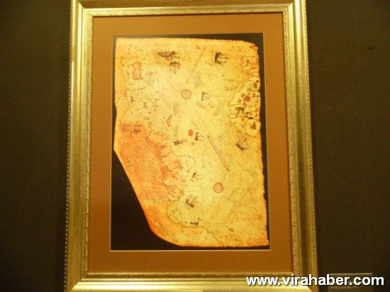 """''Piri Reis ve 1513 Dünya Haritası: 500 Yılın Gizemi"""" sergisi 60"""