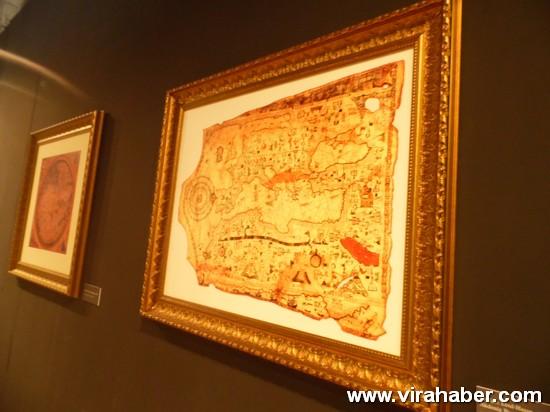 """''Piri Reis ve 1513 Dünya Haritası: 500 Yılın Gizemi"""" sergisi 67"""